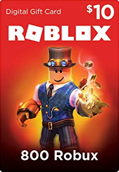 Robux Gift Card CDKey : Roblox Gift Card - 800 Robux [Online Game Code]